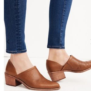 {Madewell} The Brady Lowcut Booties Size 9